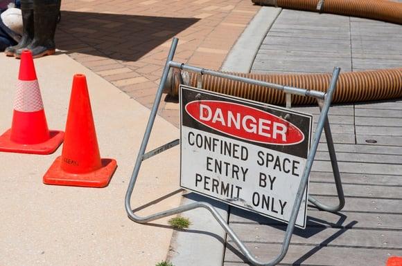 Confined Spaces are Dangerous Places