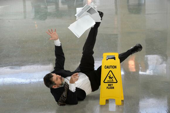 Office Safety: Fall Prevention