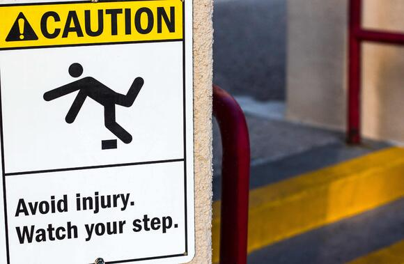Avoiding Trip Injuries Around the Shop and Warehouse