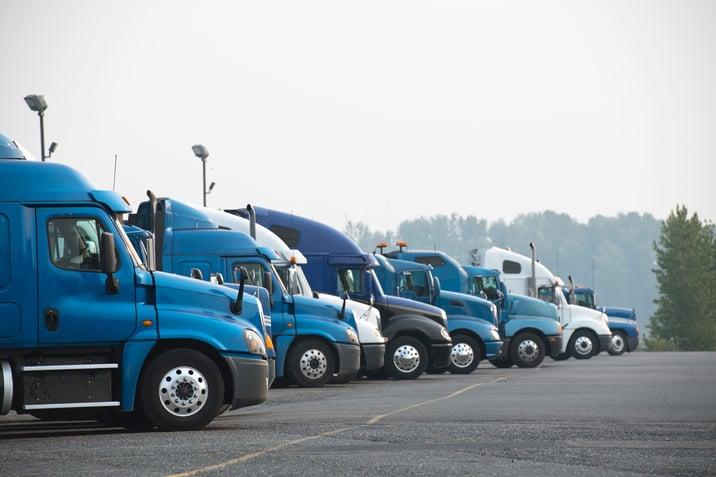 line-of-trucks